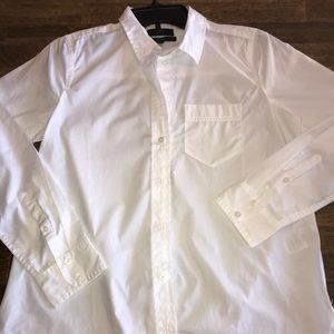 J. Crew Classic White L/S Shirt Size 4P